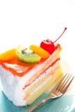 Fruit cake delicious Royalty Free Stock Image