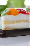 Fruit cake of dessert. Stock Image
