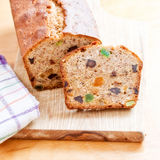 Fruit cake dessert sweet food Royalty Free Stock Photography