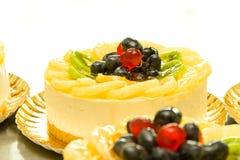 Fruit cake- detail Royalty Free Stock Photo