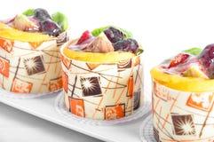 Fruit cake Stock Photography