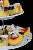 Fruit cake Stock Image