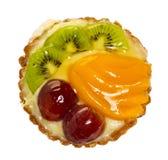Fruit cake, isolated Royalty Free Stock Photo