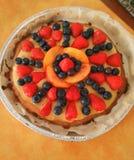 Fruit cake Stock Images