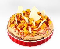 Fruit cake with mango Royalty Free Stock Photos