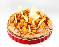 Fruit cake with mango Royalty Free Stock Photos