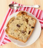 Dried fruit cake Royalty Free Stock Photos