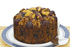 Fruit cake. Stock Photo
