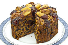 Fruit cake. Royalty Free Stock Image