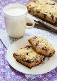 Fruit cake with streusel Stock Photo