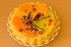 Fruit cake. Royalty Free Stock Photography