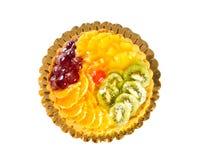 Fruit cake. With vanilla cream filling Stock Photography