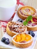 Fruit  cakes. Royalty Free Stock Images