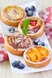 Fruit  cakes. Stock Photo