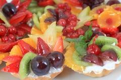 Fruit cakes Stock Image