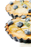 Fruit cakes Stock Images