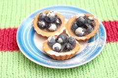 Fruit cakes Stock Photography