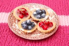 Fruit cakes Stock Photo