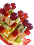 Fruit canape royalty free stock images