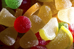 Fruit candies Stock Photo