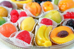 Fruit candies Royalty Free Stock Image