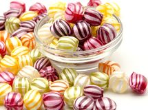 Fruit candies Royalty Free Stock Photo