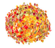 Fruit candies for background Royalty Free Stock Images