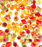 Fruit candies for background Royalty Free Stock Photography