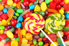 Fruit candies Royalty Free Stock Photography