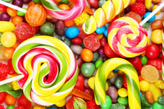 Fruit candies Royalty Free Stock Images