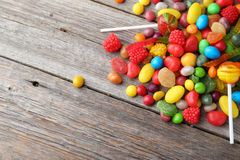 Fruit candies Stock Photo