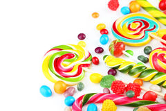 Fruit candies Stock Images