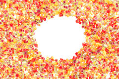 Fruit candies pattern for background Royalty Free Stock Photos