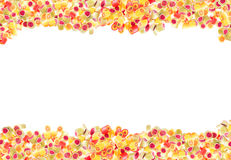 Fruit candies pattern for background Stock Photos