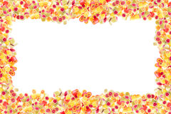 Fruit candies pattern for background Royalty Free Stock Image
