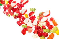 Fruit candy Stock Photo