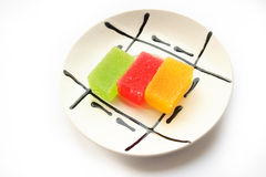 Fruit candy. On a photo fruit candy Royalty Free Stock Photos
