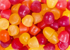 Fruit candy gummies Stock Image