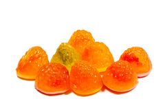 Fruit candy jelly Stock Photos