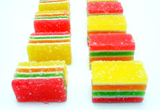 Fruit candy multi-colored all sorts Stock Photography