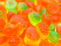 Fruit candy multi-colored all sorts Stock Images