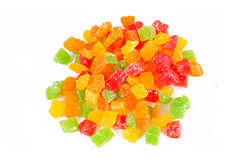 Fruit candy multi-colored Royalty Free Stock Photo
