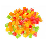 Fruit candy multi-colored Stock Images
