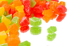 Fruit candy multi-colored Royalty Free Stock Photography