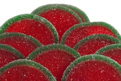 Fruit candy segments Royalty Free Stock Photo