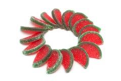 Fruit candy segments Stock Image