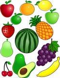 Fruit cartoon. Illustration of fruit cartoon collection Royalty Free Stock Photos