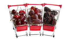 Fruit Carts Stock Images