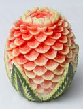 Fruit carving Royalty Free Stock Photos