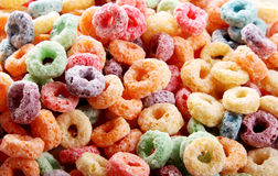 Fruit cereal Stock Photos
